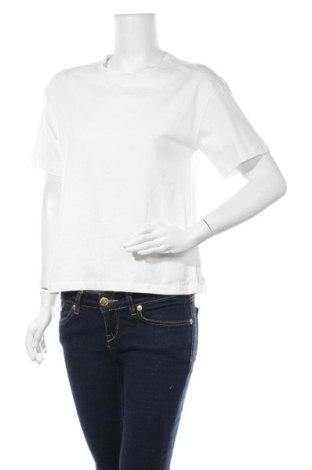 Γυναικείο t-shirt Aware by Vero Moda, Μέγεθος S, Χρώμα Λευκό, Βαμβάκι, Τιμή 6,43€