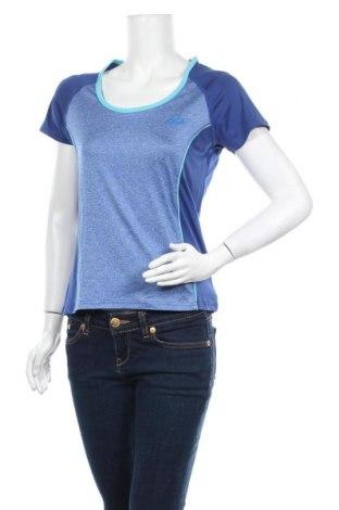 Дамска тениска Crivit, Размер M, Цвят Син, 90% полиестер, 10% еластан, Цена 14,28лв.
