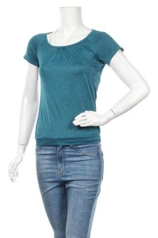 Дамска тениска H&M Sport, Размер XS, Цвят Зелен, Полиестер, Цена 10,71лв.
