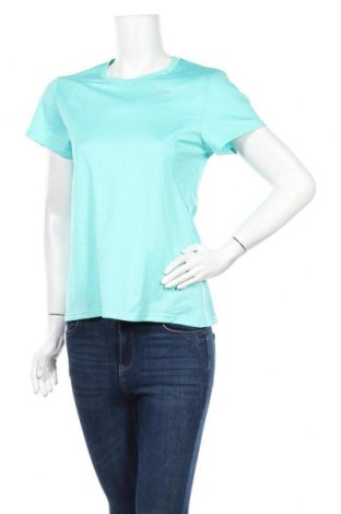 Дамска тениска Kalenji, Размер M, Цвят Зелен, Цена 8,93лв.