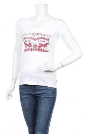 Дамска тениска Levi's, Размер XS, Цвят Бял, Памук, Цена 74,81лв.
