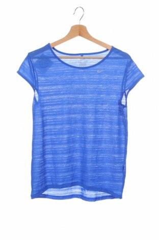 Дамска тениска Nike, Размер XS, Цвят Син, Цена 23,52лв.