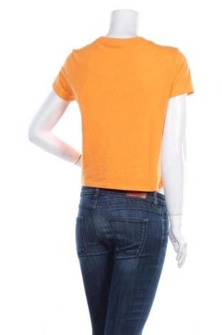 Дамска тениска ONLY, Размер S, Цвят Оранжев, 60% памук, 40% полиестер, Цена 11,20лв.