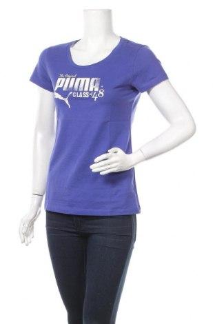 Γυναικείο t-shirt PUMA, Μέγεθος M, Χρώμα Βιολετί, Βαμβάκι, Τιμή 14,85€