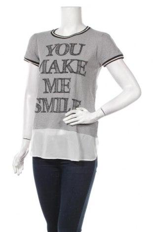 Дамска тениска S.Oliver, Размер M, Цвят Сив, Памук, Цена 9,45лв.