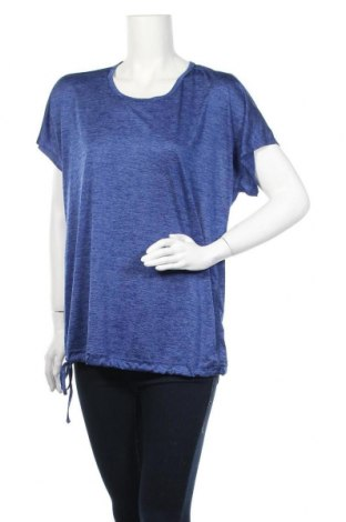 Дамска тениска Tchibo, Размер L, Цвят Син, 100% полиестер, Цена 12,60лв.