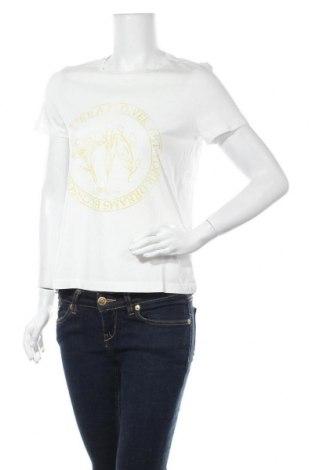 Дамска тениска Vero Moda, Размер S, Цвят Бял, Памук, Цена 21,75лв.