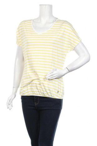 Дамска тениска Women by Tchibo, Размер S, Цвят Жълт, 50% памук, 50% вискоза, Цена 14,18лв.
