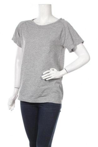 Дамска тениска Work Out, Размер XL, Цвят Сив, 56% полиамид, 44% полиестер, Цена 5,54лв.