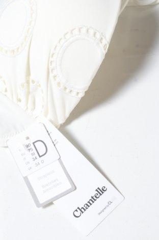 Дамски бански Chantelle, Размер S, Цвят Екрю, 71% полиамид, 29% еластан, Цена 22,62лв.