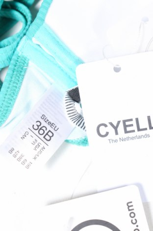 Дамски бански Cyell, Размер S, Цвят Зелен, 91% полиамид, 9% еластан, Цена 26,95лв.