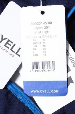 Дамски бански Cyell, Размер M, Цвят Син, 80% полиамид, 20% еластан, Цена 23,10лв.