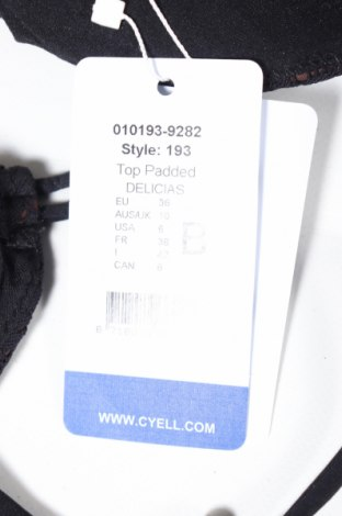 Дамски бански Cyell, Размер S, Цвят Черен, 94% полиамид, 6% еластан, Цена 23,10лв.