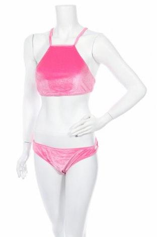 Дамски бански Even&Odd, Размер XL, Цвят Розов, 90% полиестер, 10% еластан, Цена 31,50лв.