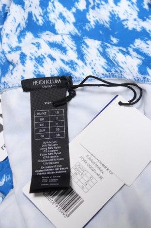 Дамски бански Heidi Klum, Размер S, Цвят Син, 80% полиамид, 20% еластан, Цена 15,48лв.