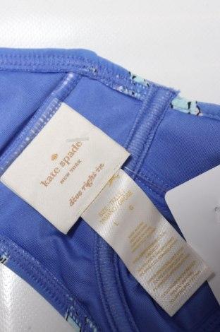 Дамски бански Kate Spade, Размер L, Цвят Син, 84% полиамид, 16% еластан, Цена 18,06лв.