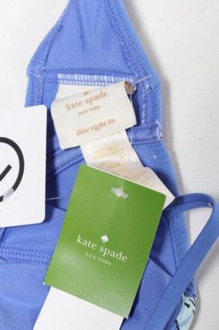 Дамски бански Kate Spade, Размер XS, Цвят Син, 84% полиамид, 16% еластан, Цена 26,95лв.