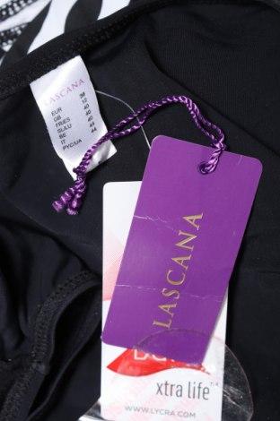 Дамски бански Lascana, Размер M, Цвят Черен, 80% полиамид, 20% еластан, Цена 29,67лв.