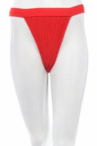 Дамски бански Missguided, Размер S, Цвят Червен, 93% полиестер, 7% еластан, Цена 9,57лв.