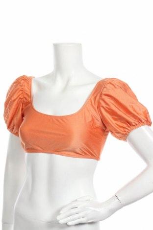 Дамски бански Missguided, Размер M, Цвят Оранжев, 82% полиамид, 18% еластан, Цена 24,00лв.