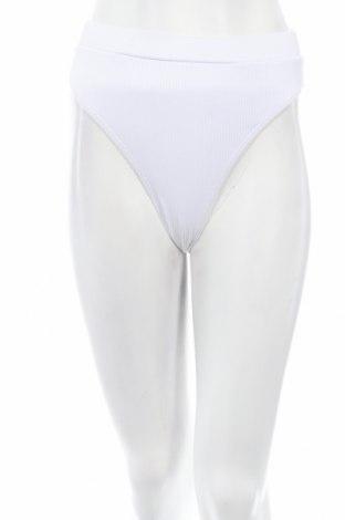 Дамски бански Missguided, Размер S, Цвят Бял, 93% полиестер, 7% еластан, Цена 13,05лв.
