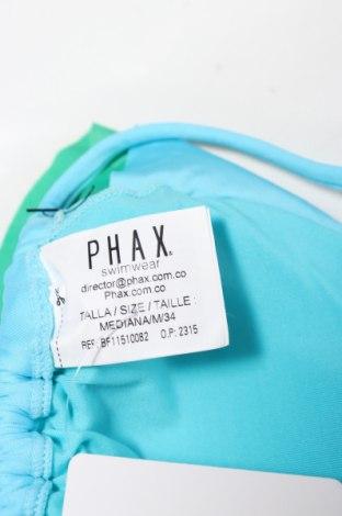 Дамски бански Phax, Размер M, Цвят Син, 84% полиамид, 16% еластан, Цена 33,00лв.