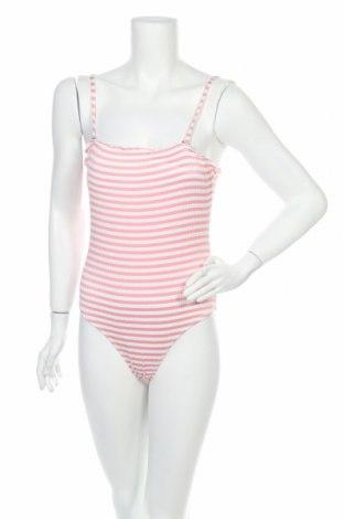 Дамски бански Vero Moda, Размер S, Цвят Розов, 99% полиамид, 1% еластан, Цена 31,85лв.