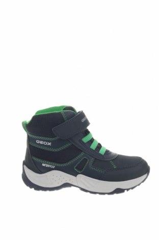 Παιδικά παπούτσια Geox, Μέγεθος 28, Χρώμα Μπλέ, Δερματίνη, κλωστοϋφαντουργικά προϊόντα, Τιμή 56,19€