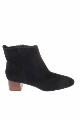 Γυναικεία μποτάκια Reserved, Μέγεθος 41, Χρώμα Μαύρο, Φυσικό σουέτ, Τιμή 14,29€