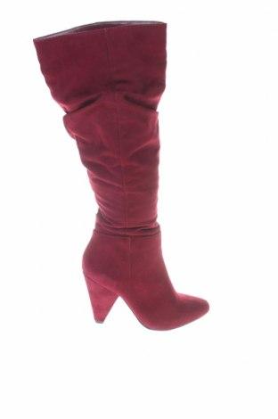 Γυναικείες μπότες Bata, Μέγεθος 37, Χρώμα Κόκκινο, Κλωστοϋφαντουργικά προϊόντα, Τιμή 42,68€