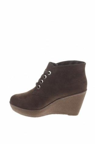 Γυναικεία παπούτσια Camomilla, Μέγεθος 38, Χρώμα Πράσινο, Κλωστοϋφαντουργικά προϊόντα, Τιμή 13,44€