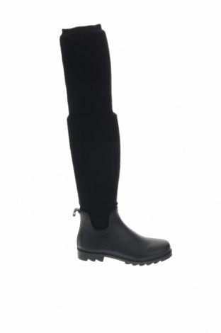 Γυναικείες μπότες Colors of California, Μέγεθος 40, Χρώμα Μαύρο, Δερματίνη, κλωστοϋφαντουργικά προϊόντα, Τιμή 42,24€