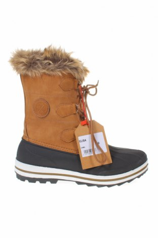 Γυναικείες μπότες Kimberfeel, Μέγεθος 40, Χρώμα Καφέ, Δερματίνη, Τιμή 39,87€