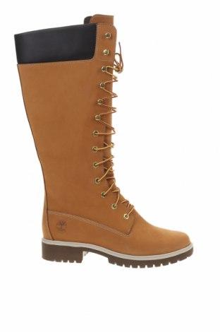Γυναικείες μπότες Timberland, Μέγεθος 40, Χρώμα Καφέ, Γνήσιο δέρμα, Τιμή 116,94€