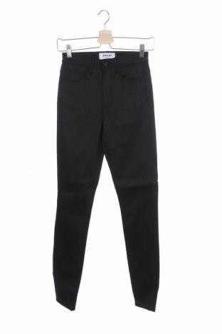Γυναικείο παντελόνι Aware by Vero Moda, Μέγεθος XS, Χρώμα Μαύρο, 68% βαμβάκι, 15% βισκόζη, 15% πολυεστέρας, 2% ελαστάνη, Τιμή 8,18€