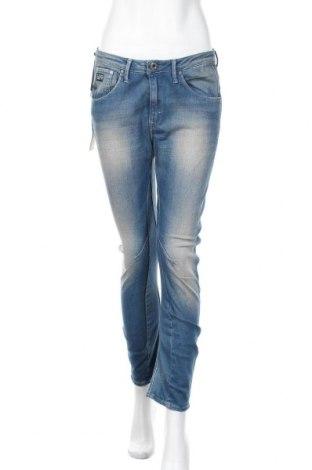 Дамски дънки G-Star Raw, Размер S, Цвят Син, 65% памук, 35% полиестер, Цена 67,60лв.