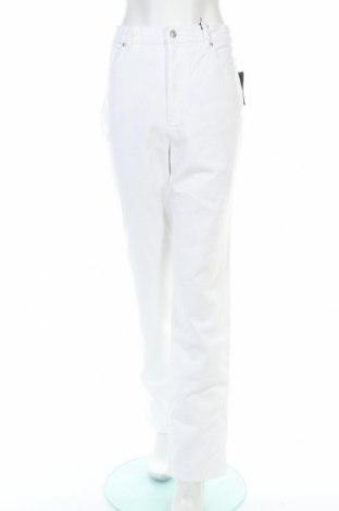Дамски дънки Gloria Vanderbilt, Размер XL, Цвят Бял, 98% памук, 2% еластан, Цена 19,32лв.