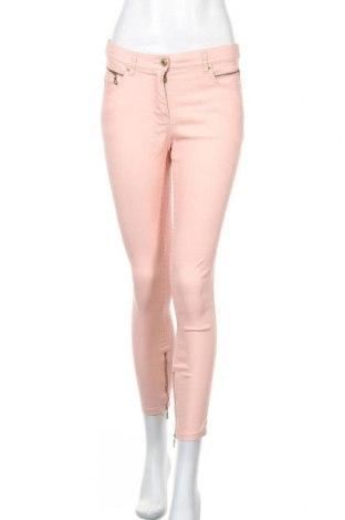 Дамски дънки H&M, Размер S, Цвят Розов, 68% памук, 28% полиестер, 4% еластан, Цена 7,72лв.
