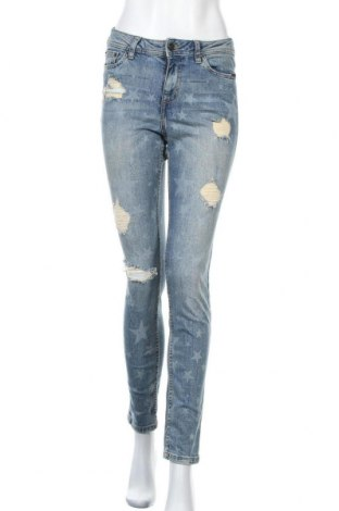 Дамски дънки Tom Tailor, Размер XS, Цвят Син, 99% памук, 1% еластан, Цена 19,20лв.