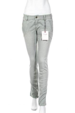 Дамски дънки Vero Moda, Размер L, Цвят Зелен, 99% памук, 1% еластан, Цена 23,40лв.