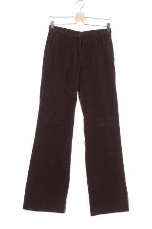 Дамски джинси Cerruti 1881, Размер XS, Цвят Кафяв, Памук, Цена 55,65лв.