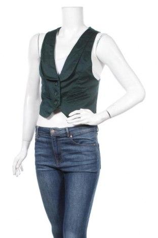 Дамски елек Colours Of The World, Размер M, Цвят Зелен, 97% полиестер, 3% еластан, Цена 21,00лв.