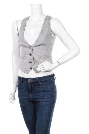 Дамски елек Edc By Esprit, Размер S, Цвят Сив, 98% памук, 2% еластан, Цена 5,78лв.
