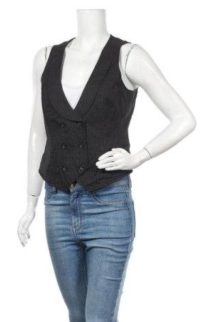 Дамски елек Esprit, Размер L, Цвят Черен, 95% памук, 3% полиестер, 2% еластан, Цена 10,40лв.