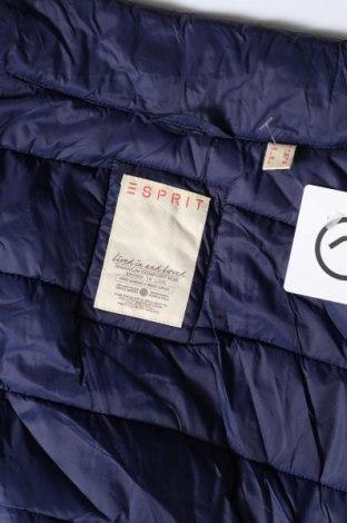 Дамски елек Esprit, Размер L, Цвят Син, Полиамид, Цена 31,19лв.