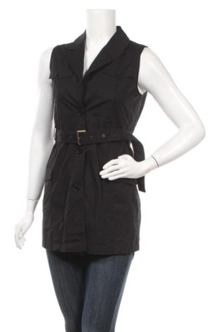 Дамски елек Esprit, Размер M, Цвят Черен, 97% памук, 3% еластан, Цена 26,93лв.