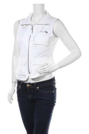 Дамски елек Esprit, Размер S, Цвят Бял, Полиестер, Цена 6,56лв.