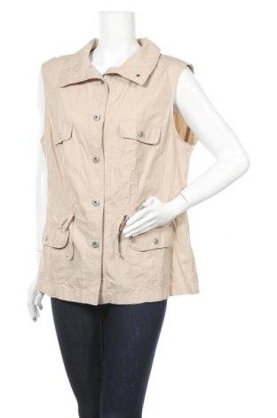Γυναικείο γιλέκο G.W., Μέγεθος XL, Χρώμα  Μπέζ, Τιμή 9,55€