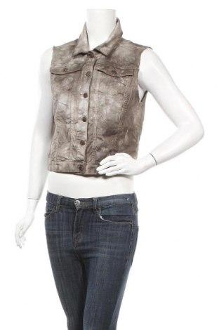 Дамски елек Garment, Размер L, Цвят Сив, 97% памук, 3% еластан, Цена 10,17лв.