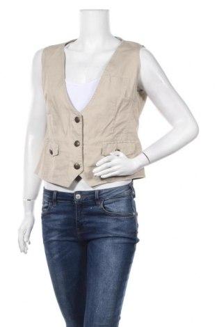 Дамски елек Gina Benotti, Размер L, Цвят Бежов, 97% памук, 3% еластан, Цена 6,40лв.
